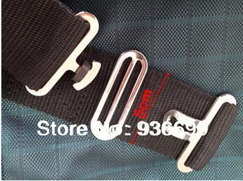 2 Horse Rug Repair Belly Strap Surcingles Web Clasp Buckle Set Male Femal