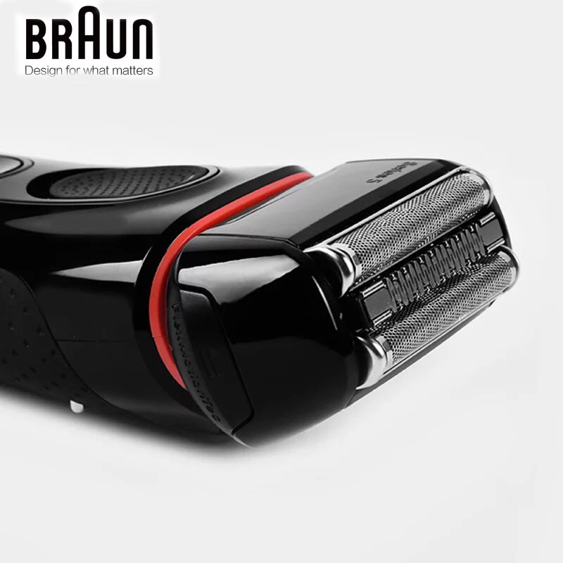 Image 5 - Braun Electric Razor Shaver 5030s For Men Rechargeable Blades High Quality Shaving Safety Quick Charge Reciprocating Triple Head-in Electric Shavers from Home Appliances