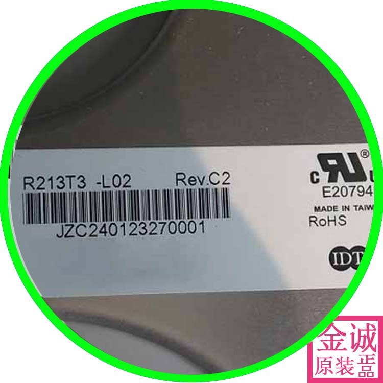 100% original new R213T3-L02 new original Chi Mei IAQS80F industrial medical equipment LCD screen R213T3-L01