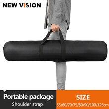 60/65/70/75/80/100/125 cm Yastıklı Kamera Monopod Tripod Taşıma Çantası kılıf/Işık Standı Taşıma Çantası/Şemsiye Softbox Taşıma Çantası
