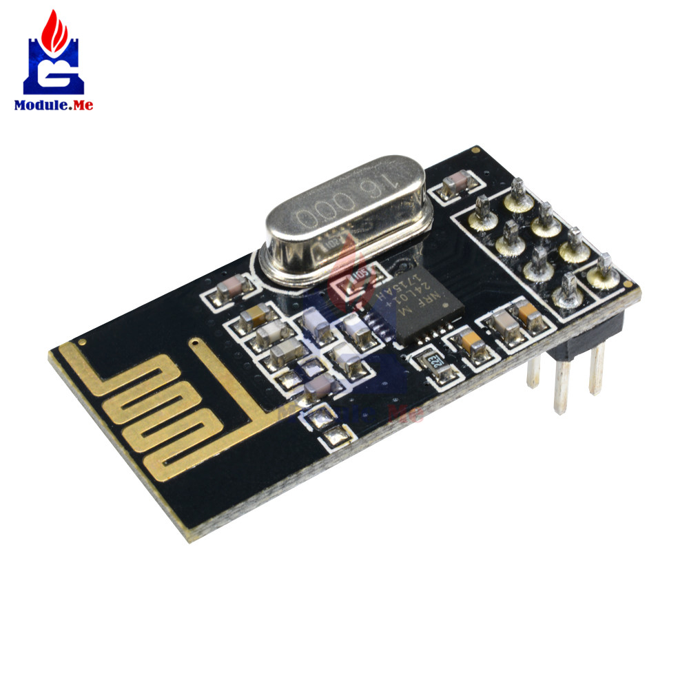 NRF24L01 Wireless Transceiver Module Arduino Microcontroller 2.4Ghz