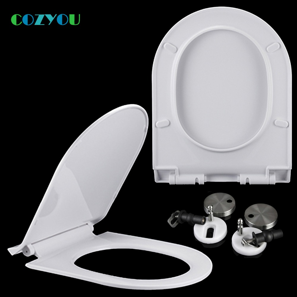 Fabulous Us 71 62 Cozyou Pp Toilet Seat U Slow Close Quick Release Easy Installation Length 425 To 495Mm Width 350 To 360Mm Gbp17321Su In Toilet Seats From Theyellowbook Wood Chair Design Ideas Theyellowbookinfo