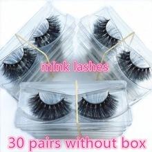 Morwalendi Lashes 30 pairs Mink lashes 3D false eyelashes wholesale daily reusable mink eyelashes new handmade cilios