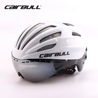Cairbull Bicycle Helmet with Lens Ultralight MTB Road Aero Racing Bike Cycling Helmets with Goggles Casco Ciclismo 55 61cm poc