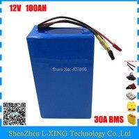High Quality 350W 12V 100AH Battery 12 V 100AH Lithium Ion Battery For 12V 3S Li
