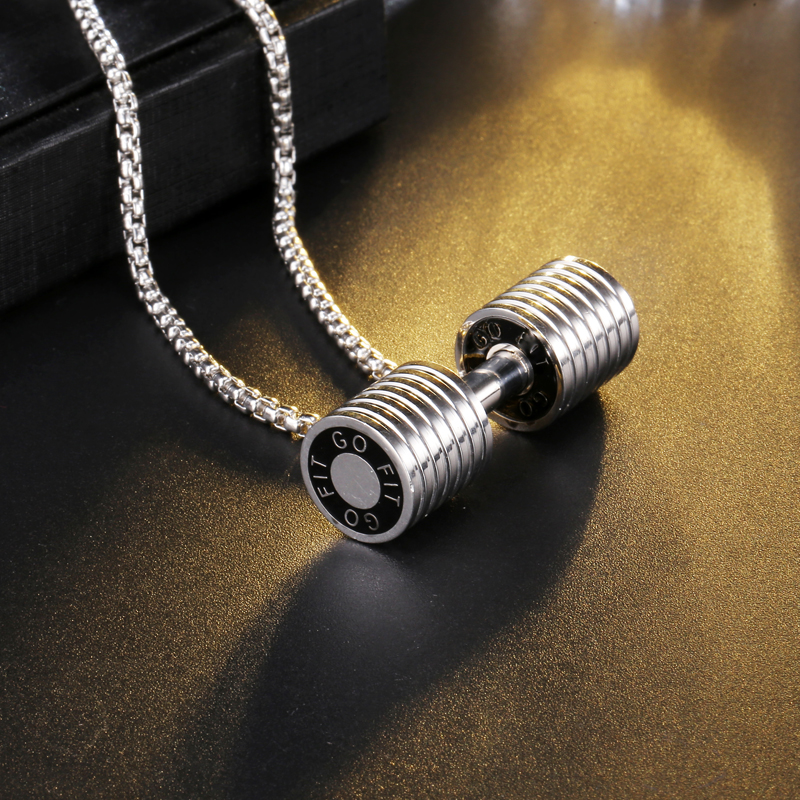 Dumbbell Necklaces