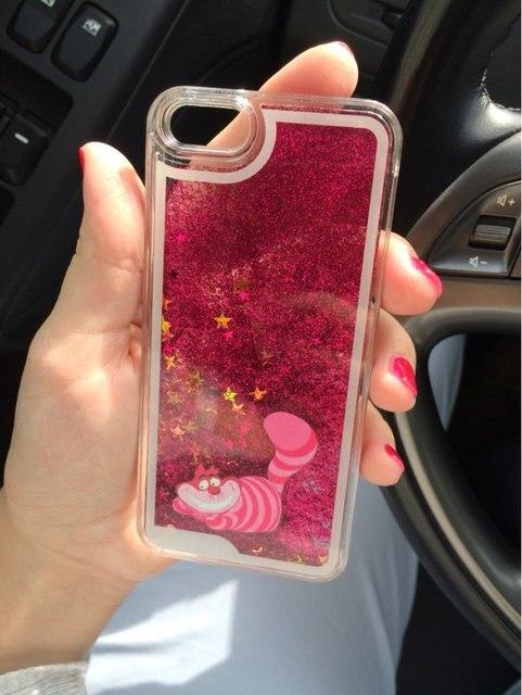 Mickey & Minnie Sparkle Glitter Liquid Stars Hard Cover For iPhone 6s 6 plus 6s plus