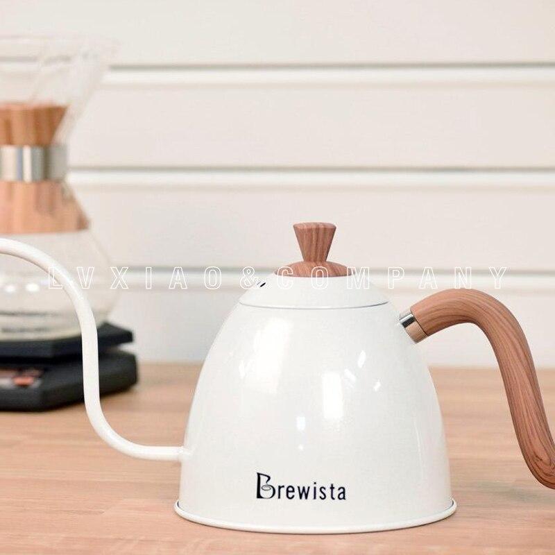 Ev ve Bahçe'ten Kahve Demlikleri'de 700ml brewista filtre kahve Isıtıcılar paslanmaz çelik kahve kapları'da  Grup 1