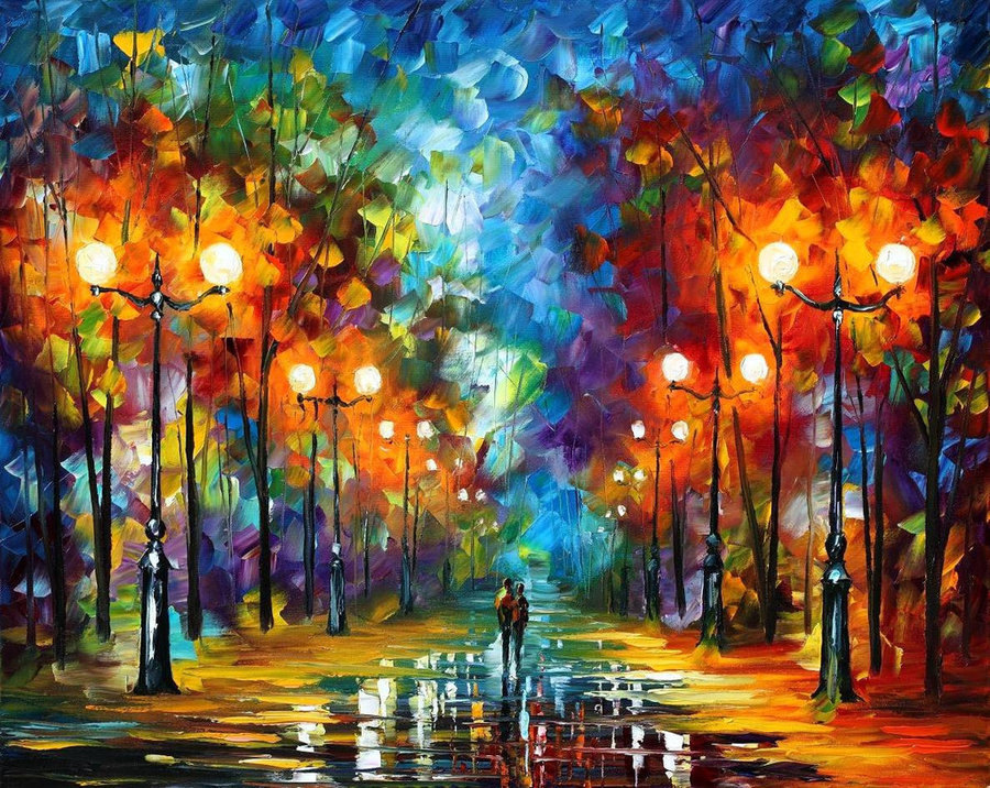 Frameless  painting by numbers wall decor diy picture oil painting on canvas for home decor 4050 the end of winter