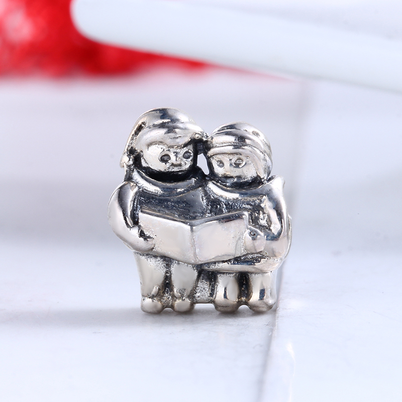 High Quality 100% 925 Sterling Silver Charms Fit Original Pandora Bracelet Carol Singer Charms Beads for Jewelry Making Gift