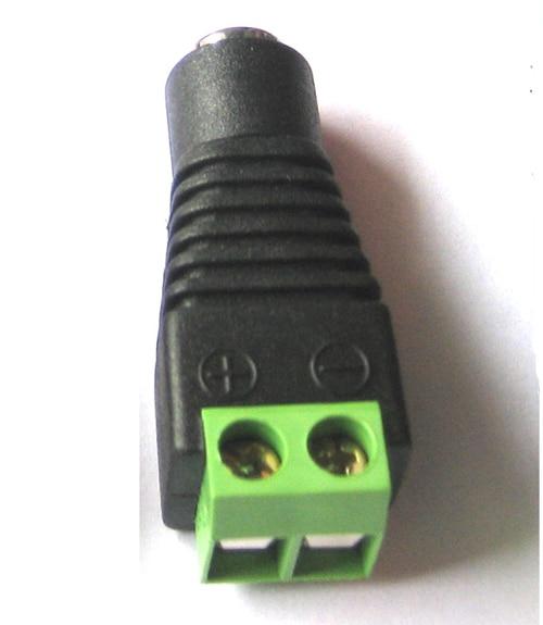 50X DC разъема конвертор 12 В DC кабель штыревое для адаптера камеры