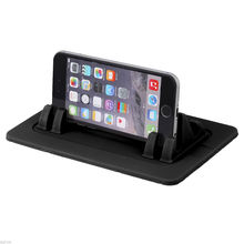 Car Mount Silicone Pad Non-slip Mat Phone Car Holder Stand Cradle Dock For Phone Samsung S5/S4/S3/ iPhone 4/5/5s/6/6S