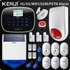 2018 Upgraded W193 3G WIFI PSTN GSM SMS Home Burglar LCD GSM SMS Touch Screen Alarm