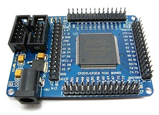 Altera CycloneII EP2C5T144 FPGA Mini Development Board