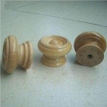 wood furniture knobs. 10pcs free shipping amercian style 38mm wood furniture knobs safety children room drawer cabinet door knob pull mushroom handles