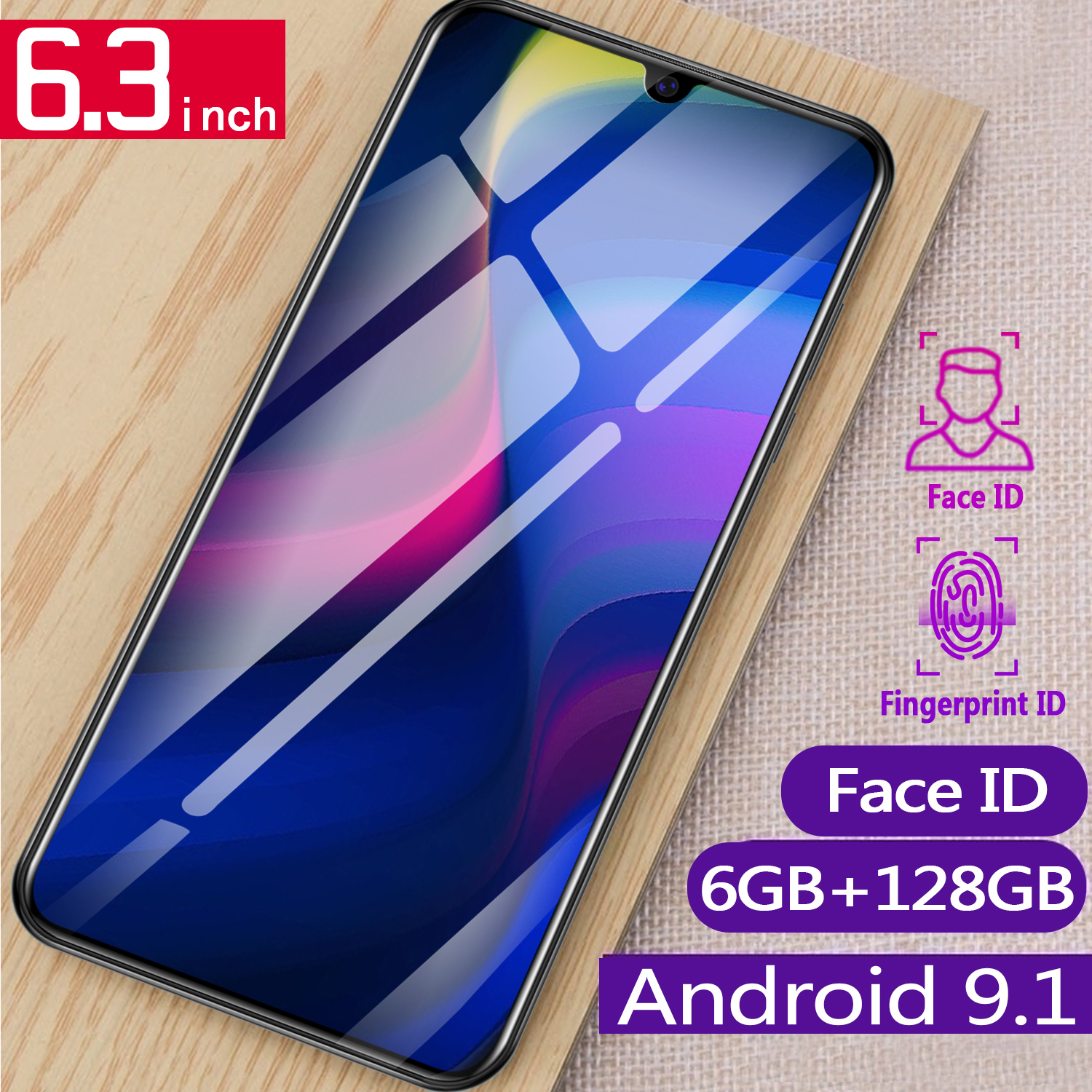 P35pro 6GB 128GB Global Version Smart Cell Phone 10 core 6.3 inch Drop Screen Telephone Dual Sim Smartphone-in Cellphones from Cellphones & Telecommunications on Aliexpress.com | Alibaba Group