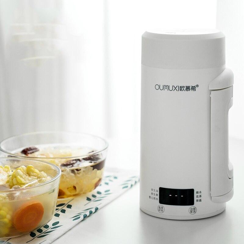 Bouilloire électrique thermos intelligent Portable tasse voyage isolation thermique acier inoxydable chauffe-eau tasse chauffe-théière intelligente