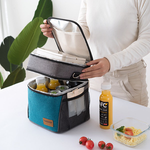 Image 2 - Large Capacity Cooler Bags Oxford Insulation Lunch Box Thermal Drink Beer Ice Pack Travel Picnic Backpack Food Fresh Keeping