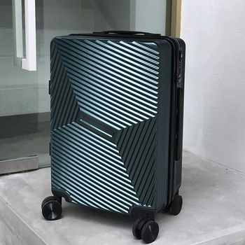 цена на SEABIRD 20 24 Aluminum Frame Travel Trolley Luggage Spinner Carry On Cabin Rolling Hardside Luggage Suitcase