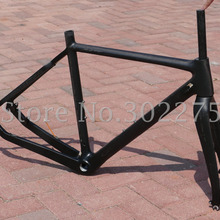 FR603 Toray углеродное волокно Велокросс велосипедная рама вилка зажим гарнитура 53 см