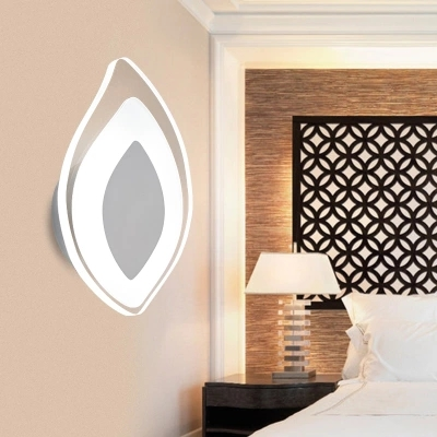Simple Art Modern LED Wall Light Fixtures For Home Lighting Fashion Wall Sconces Bedside wall Lamps Lampara Pared 2 lights modern creative metal wall light simple glass shade wall sconces fixtures lighting for hallway bedroom bedside wl282 2