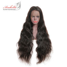 hot deal buy arabella brazilian lace front human hair wigs 180% density body wave 100% remy human hair lace wigs pre plucked lace front wig