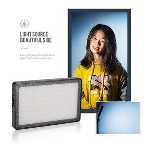 Image 4 - Andoer MFL 05 Mini LED LED Đèn Máy Ảnh 3500 K 5700 K Mờ 96 Đèn LED Tích Hợp Pin cho Máy Canon nikon Sony DSLR Camera