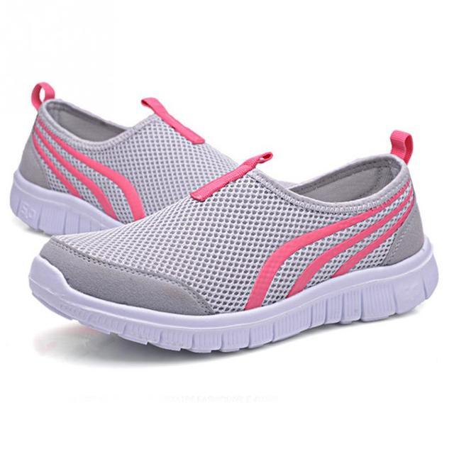 Femme Air Mesh respirant chaussures de mode de ... 8fLbwCEp