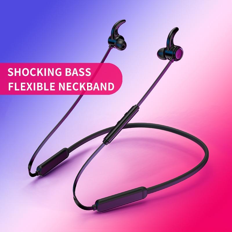Bluetooth Headphone Bluetooth Earphone Sweatproof Sport Wireless Earphone with Mic and Double batteries for Phones xiaomi iphone цена