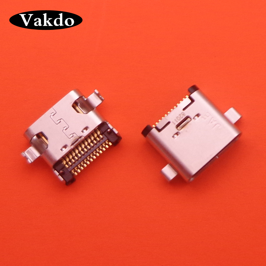 5pcs Micro <font><b>USB</b></font> For <font><b>Sony</b></font> Xperia L1 G3311 <font><b>G3312</b></font> G3313 Ribbon Module Repair Parts Power Charging Port Socket Power Connector Plug image