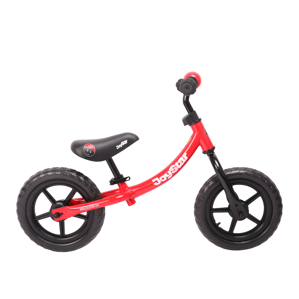 Joystar 12 Inch 2 in1 Ultralight Red Kids Sports Balance Bike Riding Bike with gift packing joystar 12 inch balance bike ultralight kids riding bicycle 1 3 years kids learn to ride sports balance bike ride on toys