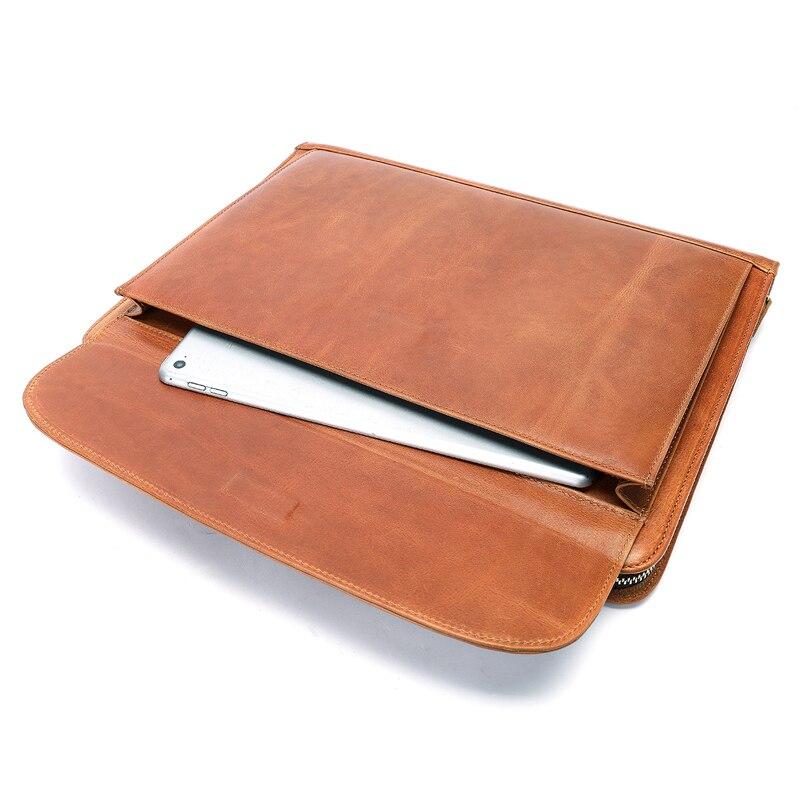 Mva bolsa de embreagem para homens saco de documento de couro a4 pasta de arquivo sacos masculino titular do cartão de embreagem sacos carteira de armazenamento bolsa 8704 - 3