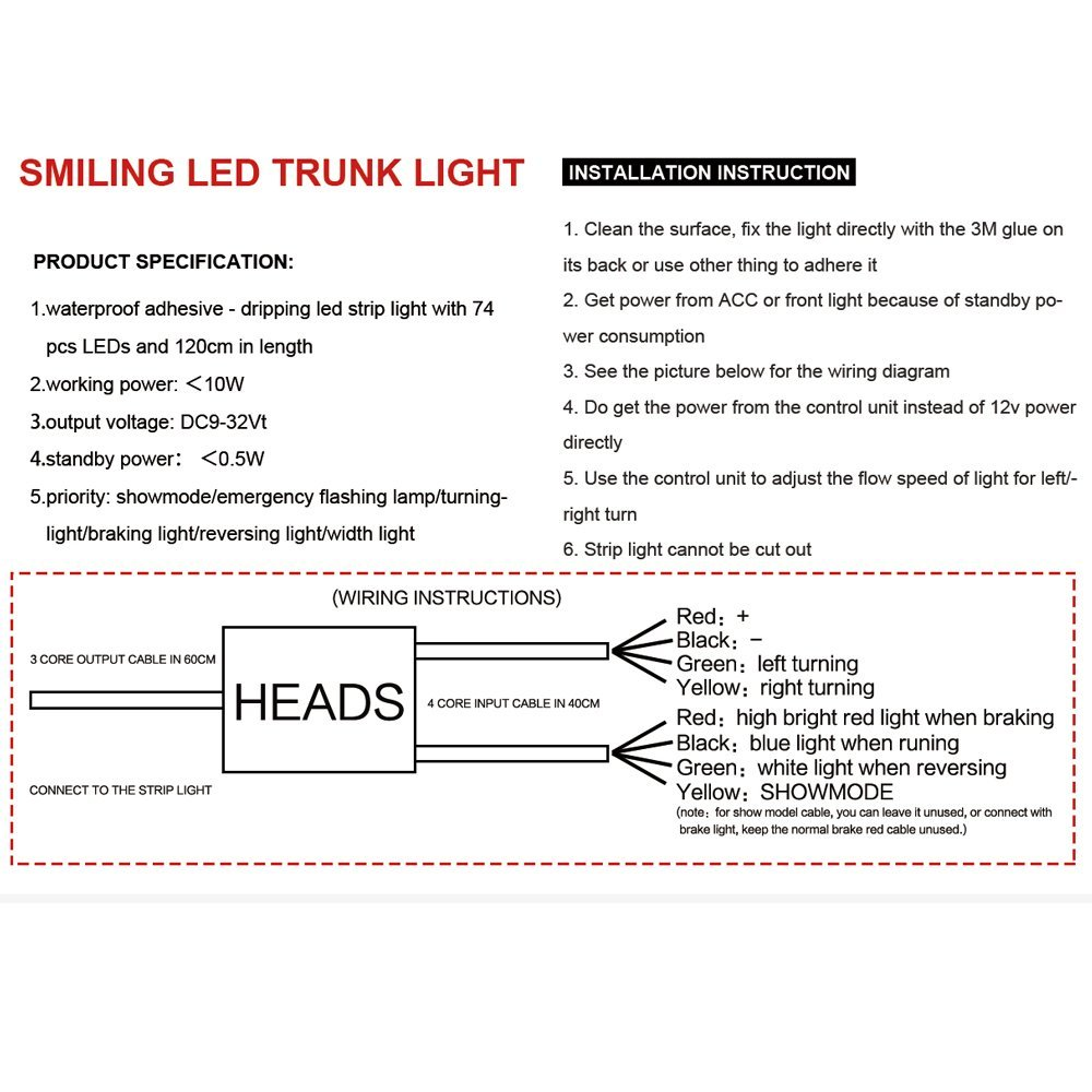 medium resolution of led strip tail light turn signals wiring diagram 48 simple turn signal diagram everlasting turn signal