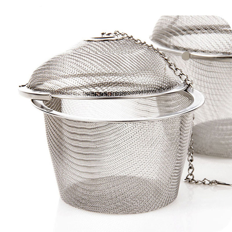For Spices/loose Leaf Tea Mesh Tea Ball Strainer Stainless Steel High Quality