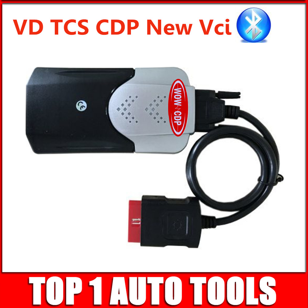 (10pcs/lot) 2015.R3 Keygen VD TCS CDP Bluetooth Diagnostic Scanner Tool OBD2 CARs/TURCKs Tcs cdp Free Activate DHL Freeshipping-in Mechanical Testers from Automobiles & Motorcycles on