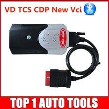 (10pcs/lot) 2015.R3 Keygen VD TCS CDP Bluetooth Diagnostic Scanner Tool OBD2 CARs/TURCKs Tcs cdp Free Activate DHL Freeshipping