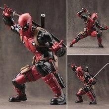 Deadpool Рисунок Уэйд Уилсон ARTFX + X-MEN X-MEN Оружие Икс ГРАЖДАНСКОГО ВОЙНА Железный Человек Росомаха ПВХ Фигурку Модель Коллекция Игрушек Подарков