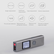 40m Laser Rangefinder LS-P Laser Distance Meter Laser Range Finder High Precision Measurement Portable Handheld Range finder sw p35 laser distance meter professional portable 35m handheld distance measurer golf rangefinder range finder