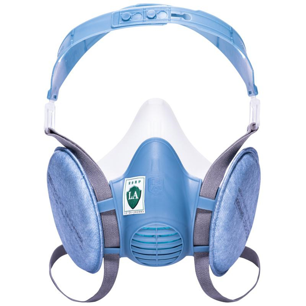 Genuine Labor Protection Dust Masks Dust-proof Anti-industrial Dust PM2.5 Coal Mine Polished Silicone Breathable Mask 50pcs high quality dust fog haze oversized breathing valve loop tape anti dust face surgical masks