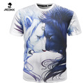 2016 Men Leisure 3D Anime Cartoon lion Creative T-Shirt, 3d Printed Short Sleeve T Shirt Tees Tops Tshirt Homme Plus Size XXXL