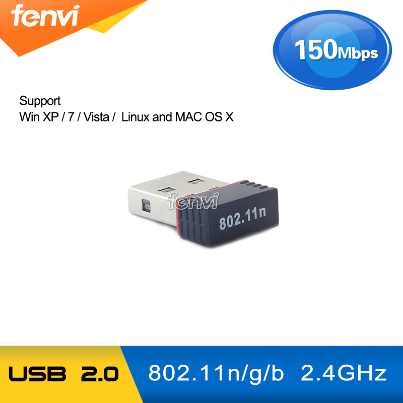 150Mbps USB WiFi Adapter Realtek RTL8188EU Wireless 802.11 B/g/n USB 2.0 LAN Dongle Support Windows / Linux Desktop Laptop