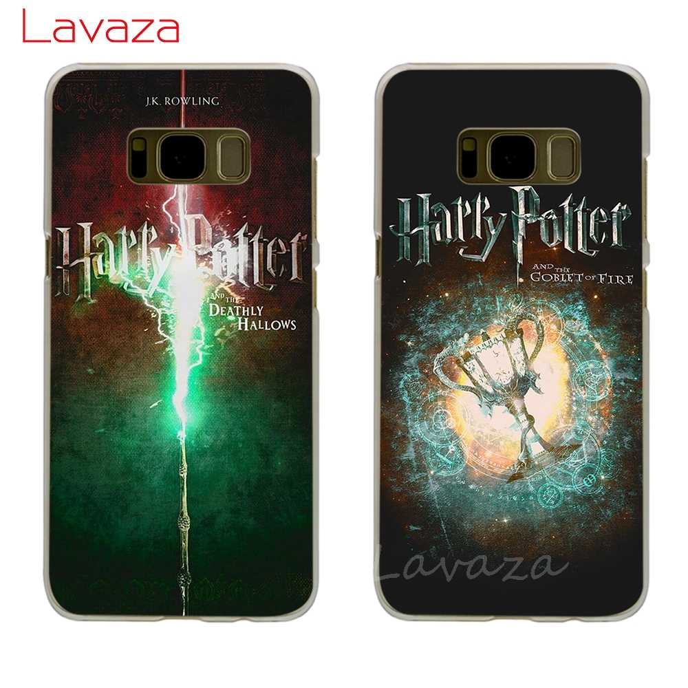Lavaza Harry Potter J.K Rowling Hard Phone Case for Samsung Galaxy S6 S7 Edge S8 S9 S10 Plus S10e Cover