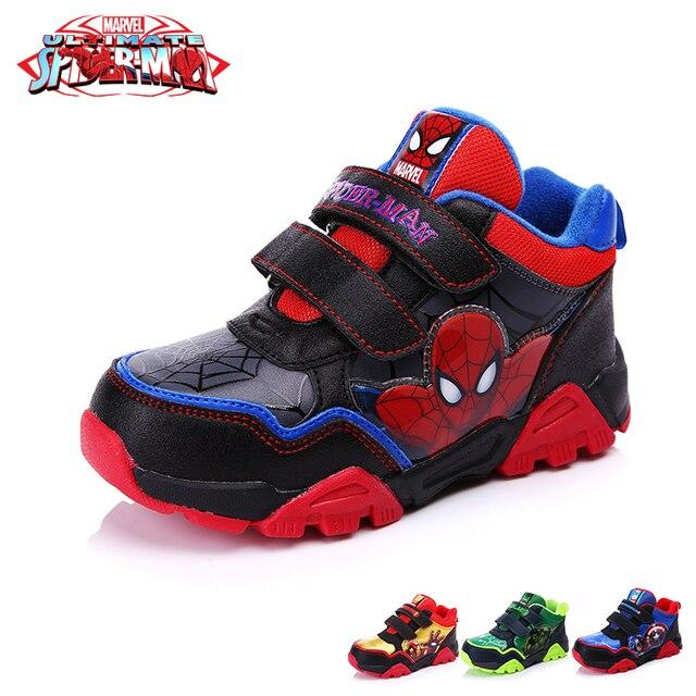 Deporte Man Iron Zapatos Patrón Dibujos Zapatillas Disney De Xaw7q5