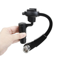 Alloy Aluminum Mini Handheld Digital Camera Stabilizer for GoPro gopro hero 5+4 Sports Camera Camera handheld Stabilizer