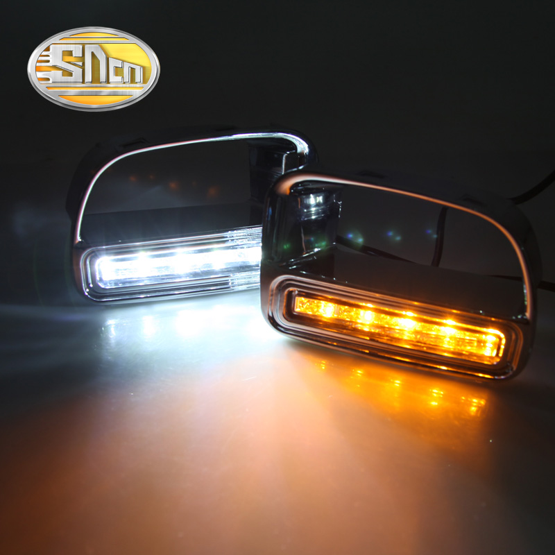 For BMW Mini Cooper Countryman,Turn Yellow Signal Relay Waterproof ABS Car LED DRL 12V LED Daytime Running Light Daylight SNCN набор приспособлений для обслуживания грм двигателя bmw n12 mini cooper jonnesway al010079