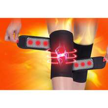 2PCS Legs Massager Magnetic Therapy Knee Brace Support Heating Kneepad  Protector Massager Elastic Belt Health Products L25