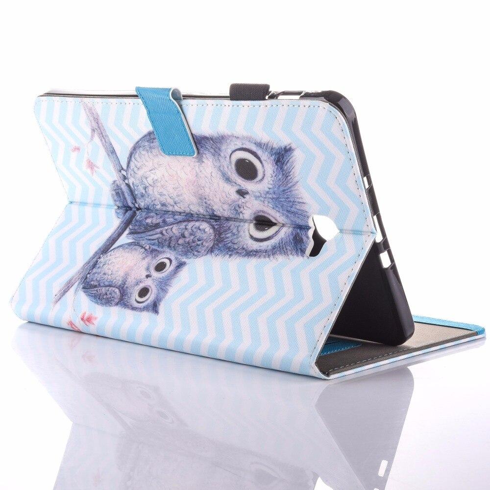 Para Samsung Galaxy Tab A 10.1 T580 Estuche New Animal Impreso Folio - Accesorios para tablets - foto 4