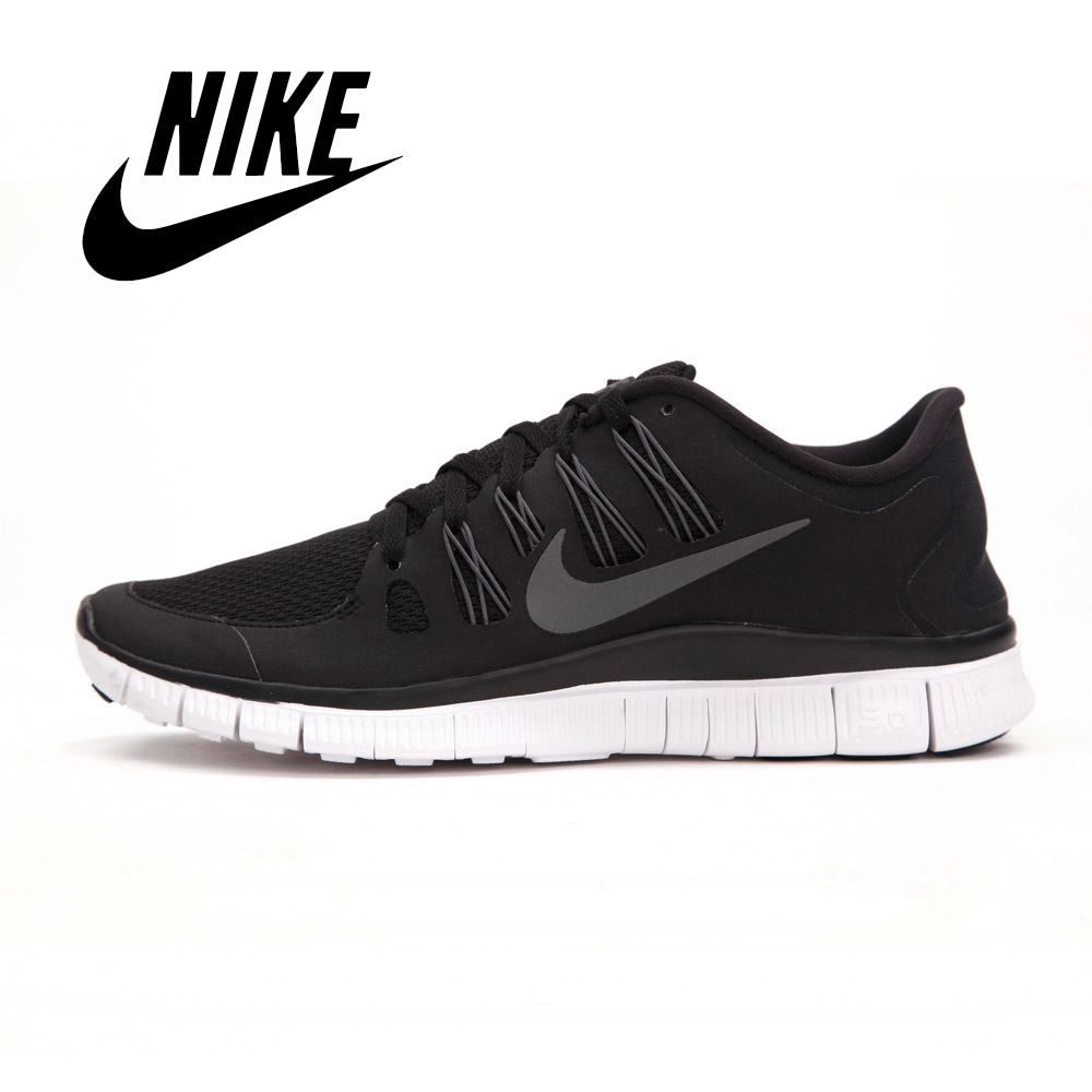 newest 22dd9 0bc0e nike free run 5 black and white