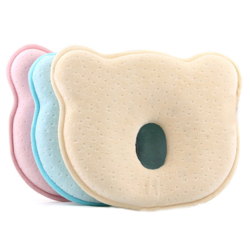 Toddler Infant Baby Pillow Soft Sleep Positioner Prevent Flat Head Memory Foam Cushion Sleeping Support Protection Pillows Hot