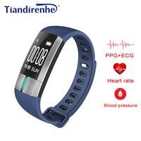 Más nuevo caliente saled pulsera inteligente G20 pro ECG Presión arterial Frecuencia Cardíaca relojes fitness activity Tracker pulsera PK mi banda 2